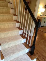 decor grey carpeted stairs with inspiring pattern for home