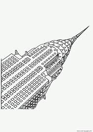 city new york chrysler coloring pages printable