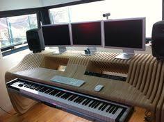 Music Studio Desk by The Diy Dream Audio Production And Recording Studio Recording