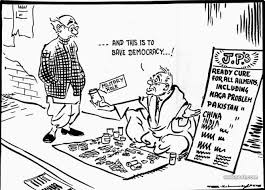 20 best editorial cartoons by famous indian cartoonist rk laxman