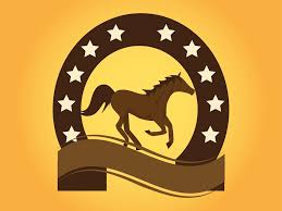 ferrari emblem vector horse logo vector art u0026 graphics freevector com
