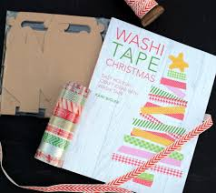 washi tape christmas the book