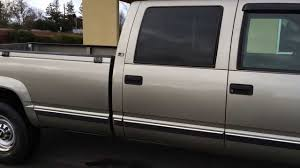 2000 Chevy Silverado Truck Bed - 1999 chevy 3500 crew cab 4x4 diesel ls chevy 1 owner 82k