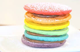 rainbow pancakes recipe goodtoknow