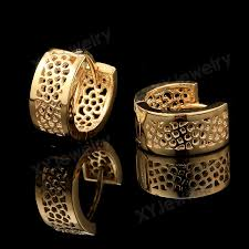 types of earrings for women 18k gold rings earrings gold earrings for women ring type earrings