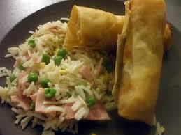 cuisiner des nems recette de nems porc crevettes à la kapi