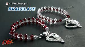 crystal bracelet diy images Diy crystal beads bracelet valentine 39 s day gift idea how to jpg