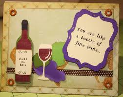 birthday wine a techy teacher with a cricut wine bottle birthday card
