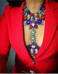 statement necklace wholesale images Vedawas fashion facebook instagram 2016 hot body jewelry chain jpg