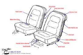 1968 corvette seats 1968 corvette seats parts parts accessories for corvettes