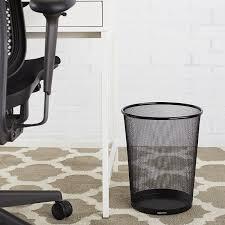amazon com amazonbasics mesh wastebasket office products