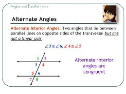 Example Of Alternate Interior Angles Math 7 Geometry 04 Angles Parallel Lines And Transversals Grade U2026