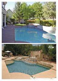 Remodel Backyard 33 Best Swimming Pool Remodeling Images On Pinterest Pool