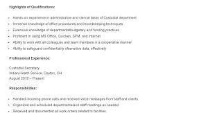 janitor maintenance cover letter example custodian resume samples