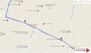 Map Your Run Sneha Run 2017 A 5k Run Walk At Sarjapur Bangalore Events High