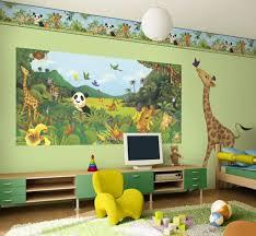 chambre de bébé jungle stickers chambre bébé jungle des idées