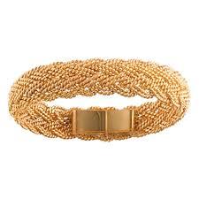 gold hand bracelet images Medium gold hand woven bracelet nautical gold jewelry jpg