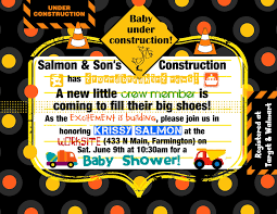 construction baby shower sweet s stuff construction themed baby shower