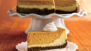layered pumpkin cheesecake recipe bettycrocker
