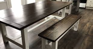 kitchen wonderful bench style kitchen table dining table with