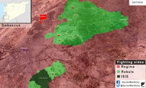 Syria Situation Map by Syrian War Daily U2013 30th Of May 2017 Syrian War Daily