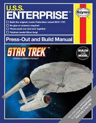 the trek collective press out and build uss enterprise