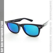 Jual Ban Flash jual kacamata rayban wayfarrer 2140 black flash blue terbaru 2018