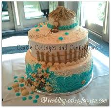 tropical themed wedding shell wedding cakes are a fit for a themed cake