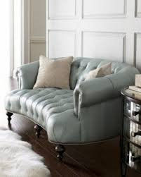 Blue Leather Armchair Leather Sofas With Nailhead Trim Foter