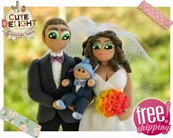 custom wedding cake toppers bride and groom best wedding