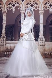 islamic wedding dresses ivory 3 4 sleeves islamic wedding dresses 1st dress