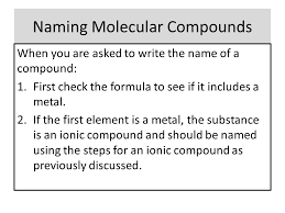 naming molecular compounds worksheet answers the best and most