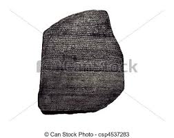 rosetta stone hungarian rosetta stone on white background stock photos search photographs