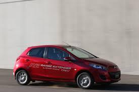 mazda car range mazda 2 ev range extender prototype first drive