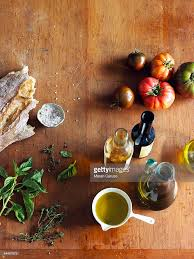 Cooking Board by Italian Cooking Ingredients On A Cutting Board Stock Photo Getty