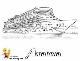 cruise ship coloring page kids coloring free kids coloring