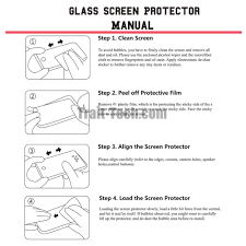 hat prince high definition tempered glass screen protector for