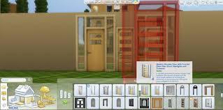 Modern Wood Door Mod The Sims Sims 4 Doors Modified