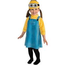 Walmart Halloween Costumes Toddlers Minion Toddler Halloween Costume Walmart