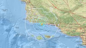 Cal State Fullerton Map Earthquakes Strikes Near Isla Vista Ksby Com San Luis Obispo