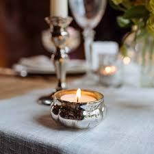 silver tea light holders mini floating mercury silver glass tea light holders the wedding