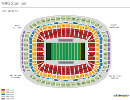 Metlife Stadium Map Texans Seating Map My Blog