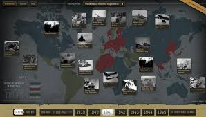 World Map Timeline by New Interactive Timeline And Map Allows You To Explore The History
