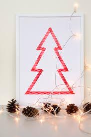 decordots diy washi tape christmas tree