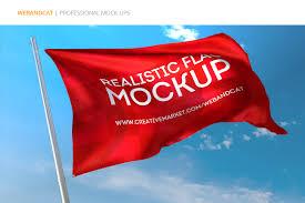 Dansk Flag Flag Mockup On Behance