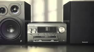 panasonic receivers home theater panasonic sc pmx70 hi fi audio system features youtube