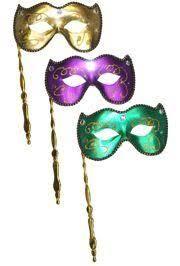 ceramic mardi gras masks for sale assorted mardi gras p g g lamei venetian masquerade mask on a stick