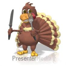 thanksgiving cards at presentermedia