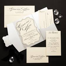 pocket fold invitations glitter pocket fold wedding invitations chic shab