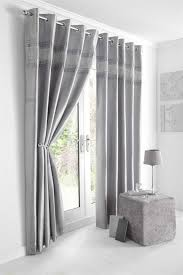 Luxury Grey Curtains New Luxury Diamante Bedding Duvet Cover Bed Sets Lined Eyelet
